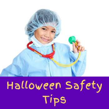 Halloween Safety Tile