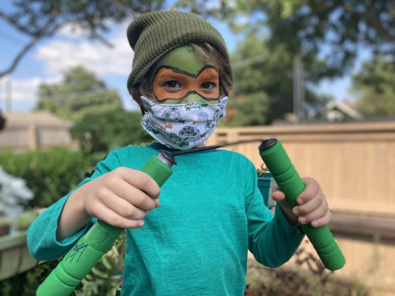 Joss Rittler As A Ninja Turtle