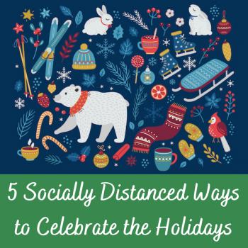 Social Distance Holidays Tile