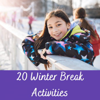 Winter Break Activities Tile