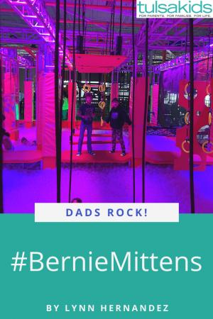 Dads Rock Bernie Pin