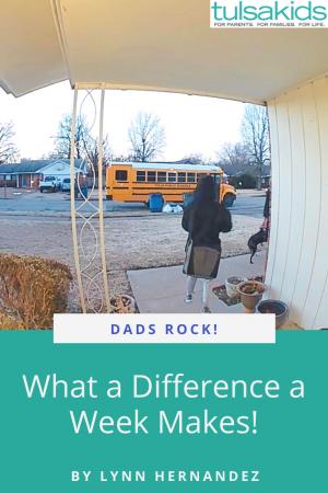 Dads Rock Week Pin