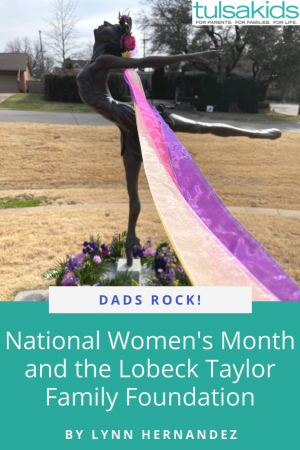 Dads Rock Womens Month Pin