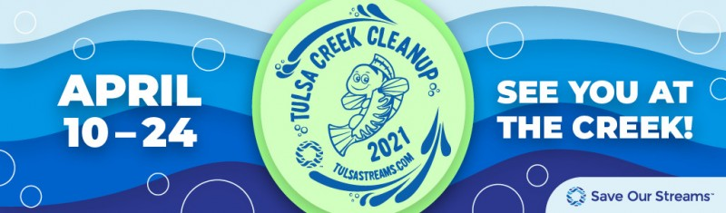 City Of Tulsa Clean Up Poster