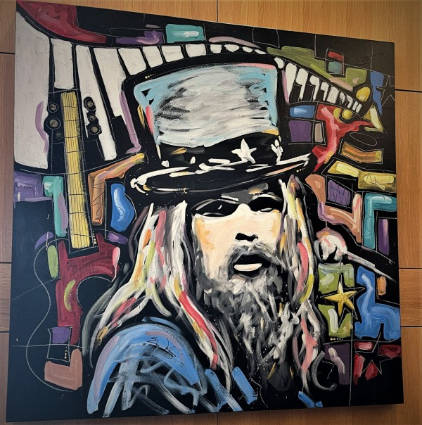 Leon Russell Painting