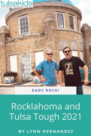Dads Rocklahoma Pin