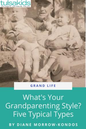 Gl Grandparenting Pin