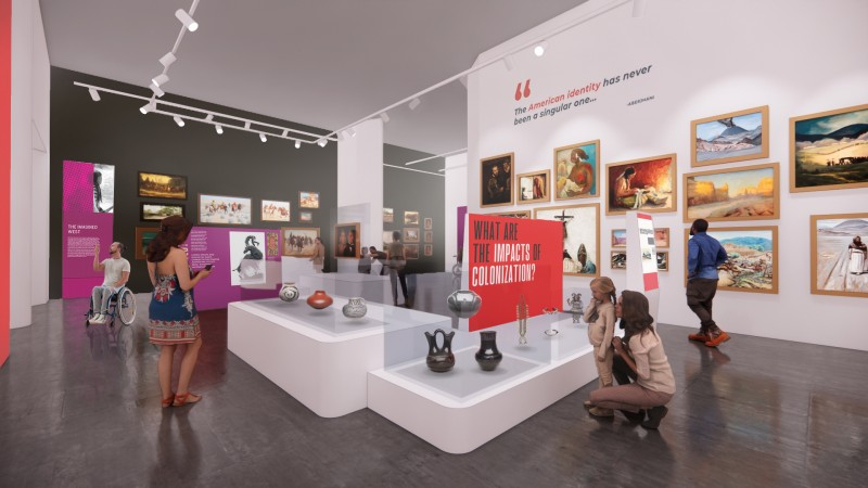 Imagined West Gallery Concept