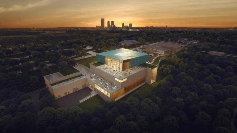 Gilcrease Museum Aerial