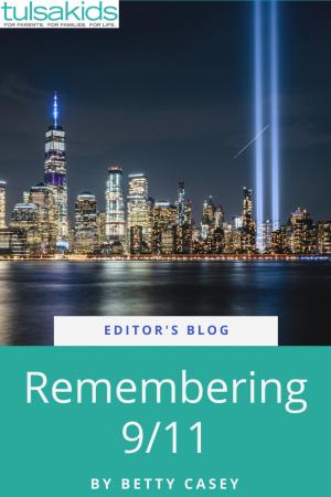 Remembering 911 Pin